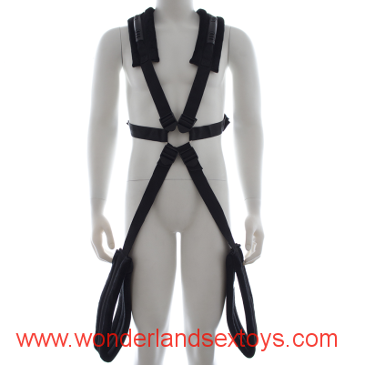 Hot sell Mens Fetish sex chair strap on back ribbon plush bdsm sex swing adult sex products bdsm bondage sex toys for couples