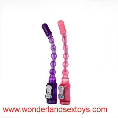Jelly Vibration Anal Beads, Butt Plug, Anal Toys,AV Anal Vibrator, Adult Sex Toys For Women,Sex Products
