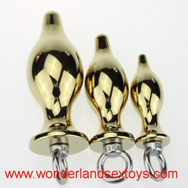 3 Size Metal Anal Toys Butt Plug Stainless Steel Anal Plug Sex Toys Sex Products for Adults A42
