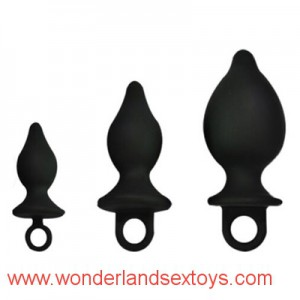 3sizes Silicone Sucker Anus Plug for Woman Man Waterproof Adult Sex Toys Product