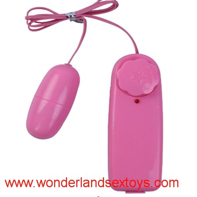 Single Jump Egg Vibrator Bullet Vibrator for Women