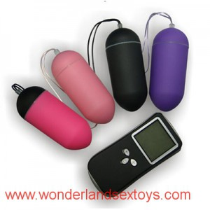 LED display wireless remote vibrators love vibrating egg 10 Frequency