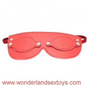 Soft PU Leather Eye Mask Sex Products Fetish Sex Blindfold Cover Nose Sex Toys For Couples Flirting Erotic Products Adult Games