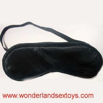 Black Cloth Eye Mask  Flirting Supplies For Couple Sex Fetish Toys Blindfold
