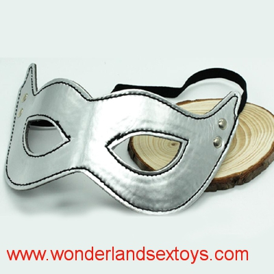 Silver color New Flirt Products Adult Sex Products Eyes Mask Erotic Toys for Couples