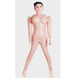 Inflatable black hair Sex Dolls,Inflatable Doll with 3D face ,eye movement,new Integral genitals,eye movement,chest water injection love dolls