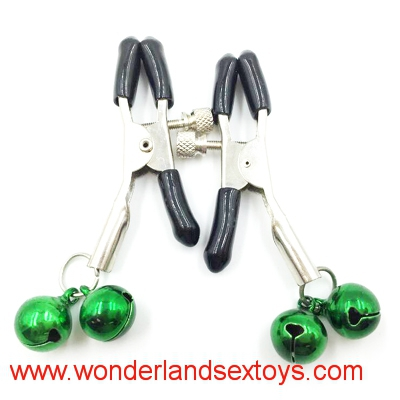 1 Pair Nipple Breast Clamps Clips Jewellery Bust Massager Stimulate Sex Toy Flirt Adult Products Tightness Adjustable