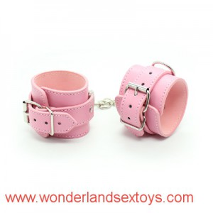 Leather Wrist Ankle Cuffs Bondage Belt Slave In Adult Games For Couples,Fetish Porno Erotic Sex Products Toys For Women