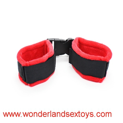 Cloth Bondage Underbed Bedroom Restraint cuffs for Role Play ,adult sex toys