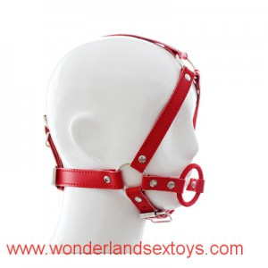 Adult Games Head Harness Open Mouth Gag O Ring Gag Head Bind Mask Sex Toys For Couple