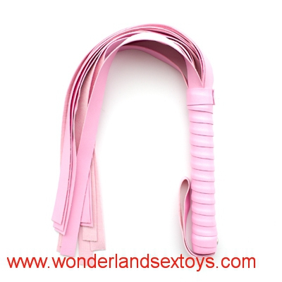 Sexy Mini Flogger Sexy Mini Whip 45cm  Pink small whip Sex Adult Toy