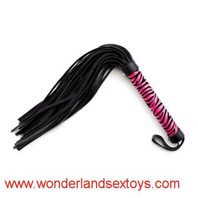 Hot new fashion leather sex bondage product Leopard whip sex toy product