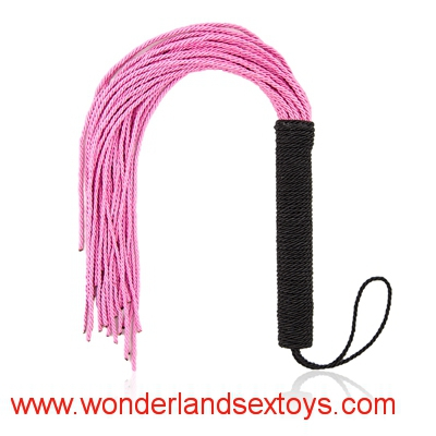 50cm Nylon Silk Rope Weaving Whip Sex Toys ,Adult Products Flirting Toys For Adult Games