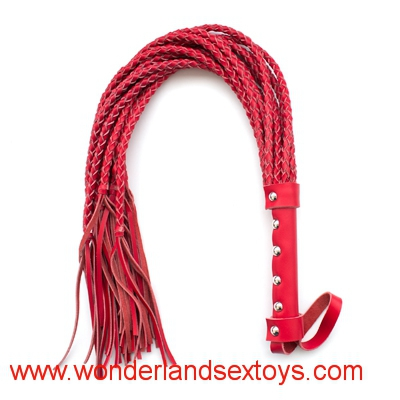 BDSM bondage leather weave whip sex toys for couples,sex products