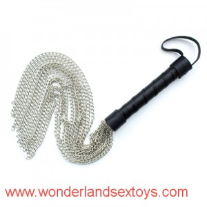 Metal Sex Spanking Paddle Fetish Leather Whip Flogger male female slaved fetish game toys wholesale sex products