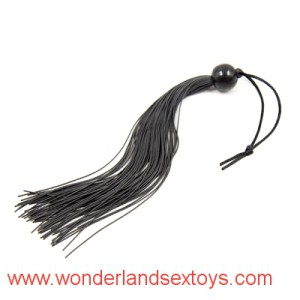Fetish Whip Flogger Sex Toys For Couples ,Sexy Policy Knout Whip with ball handle