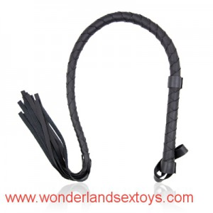 Black PVC Long Sex Whip Passion Utensils Stage Props Adult Sexual Games Toys for Couples Flogger Fetish SM Spank Lash Furniture