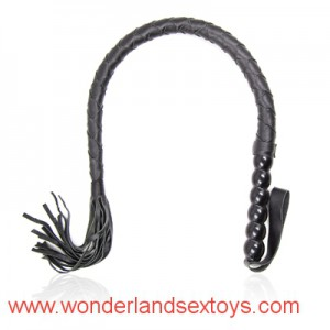 Long & Thin PU Leather Whip Lash Strap Flogger Sex Slave Toys Sex Products For Couples Flirting
