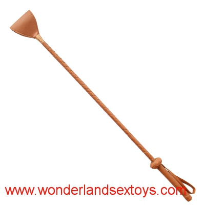 60CM Leather Delicate Whips Fetish Horse Crop Whip Spanking Paddle Flogger Sex Toys For Couple