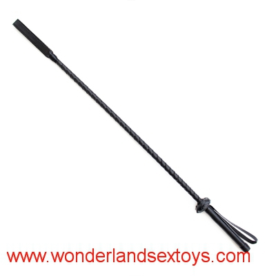 Black Delicate PU Leather Sex Toys Couple Game Flogger Sex Whip Paddles Adult Games Spanking Paddles
